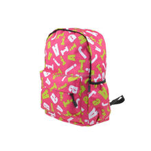 Wholesale Custom Cute Sublimation Printed School Backpack For teenagers