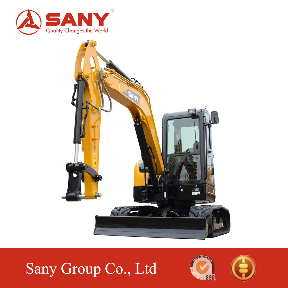 SANY SY50C 5 tons Small Mini Excavator earth digging machinery for Saving Energy