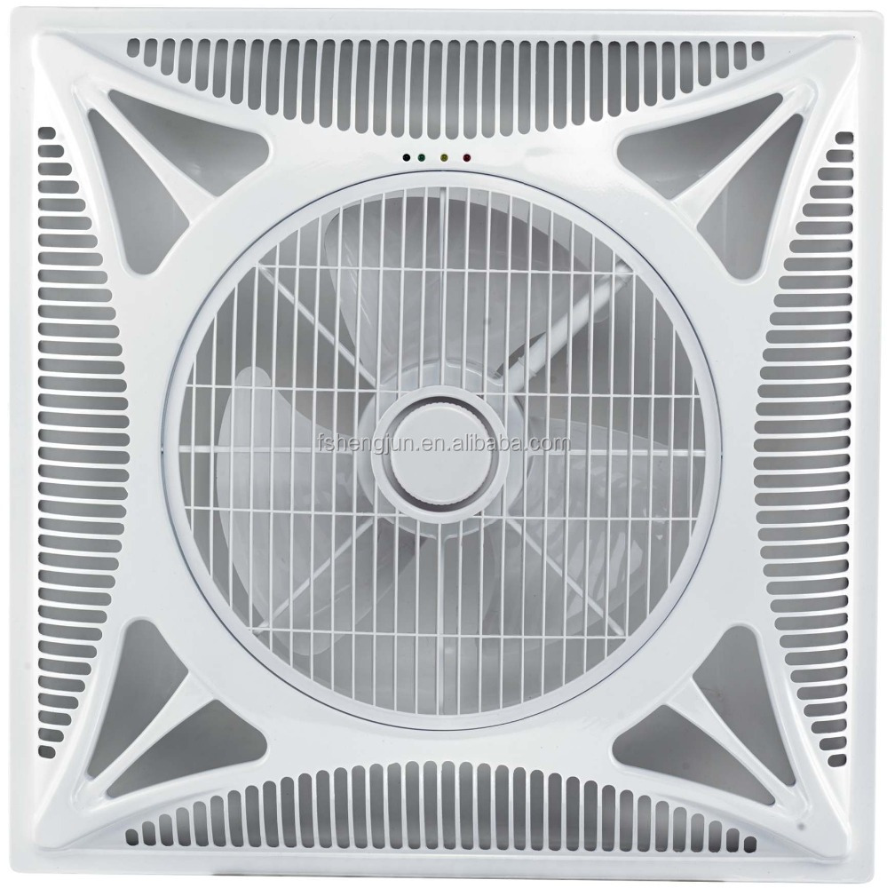60X60 Shami KDK 14 inch false ceiling ventilator fan with LED & remote control CE SASO to Iraq Saudi Arabia Dubai India Pakistan