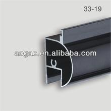 office toilet partition cubicle aluminum profile