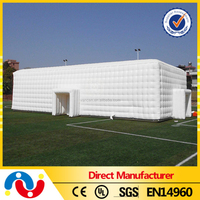2015 top selling big pvc tarpaulin garden inflatable event tent for sale