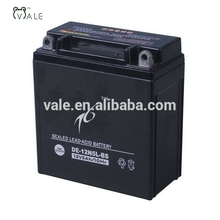 High quality 12V 12N5L-BS Dry Cell Motorcycle Battery