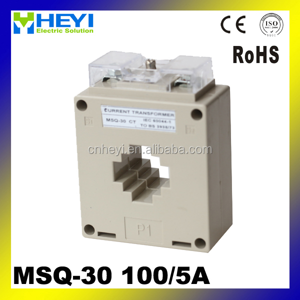 ac current transformer MSQ-30 100/5a ring core current transformer