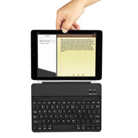 Best selling products metal cover magnetic clip bluetooth keyboard for ipad air
