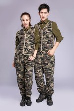 Trendy Style Men Blazer Designs Custom Casual Heating Man Camouflage Suit with 7.4V battery