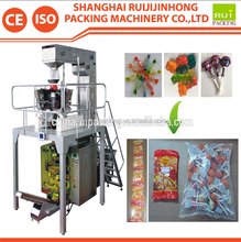 Low cost high speed pillow bag candy packing machine
