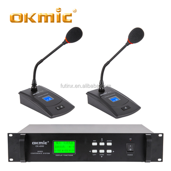 OKMIC wired desktop conference microphone for meeting room