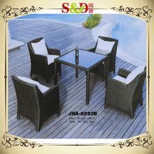 SD NEW DESIGN Luxury Seating Garden Patio Resin Wicker Rattan Outdoor Dining Furniture
