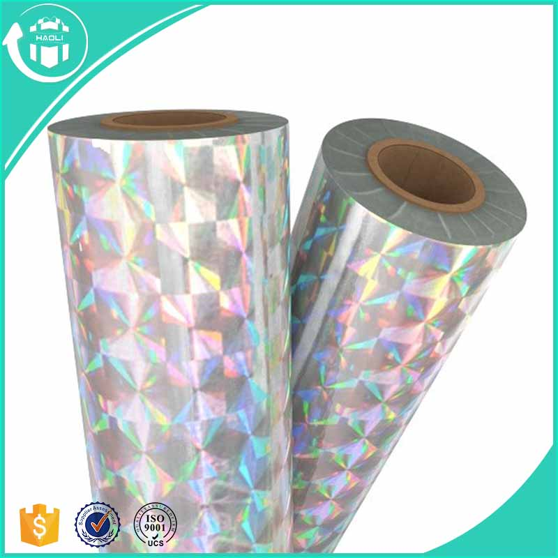 New Arrival Water Proof Metallic PET Laser Film