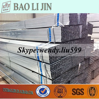 Galvanized Square Tube for Green House