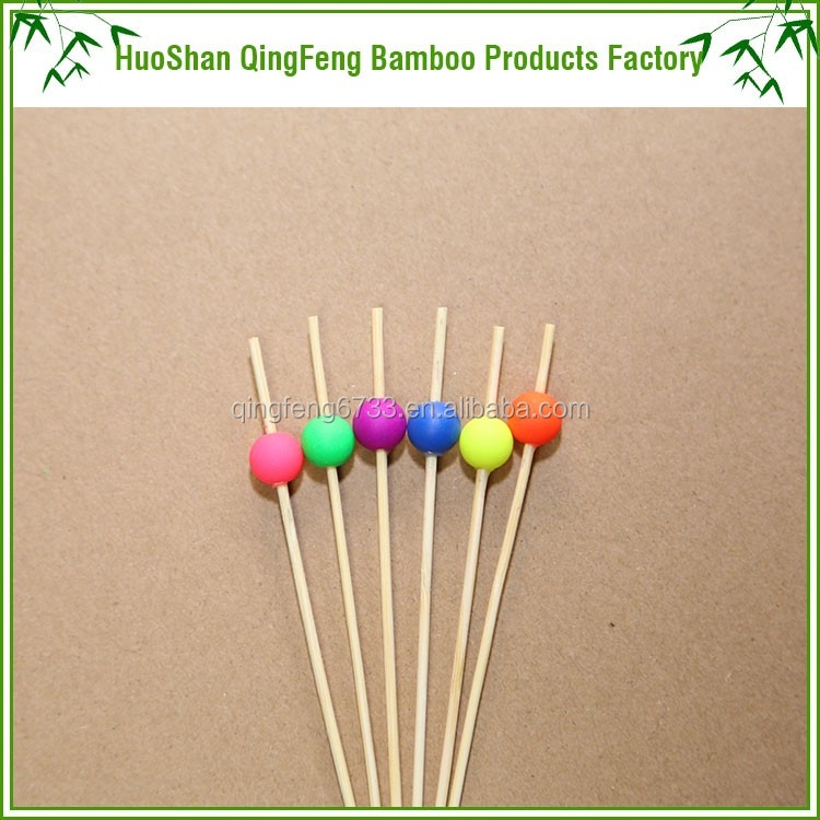 QF Wholesale color decorative artificial bamboo sticks