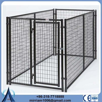 Hot sale cheap Metal or galvanized comfortable dog run fence panels