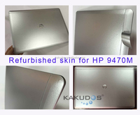 Refurbished used laptop skin sticker for Hp EliteBook Folio 9470m