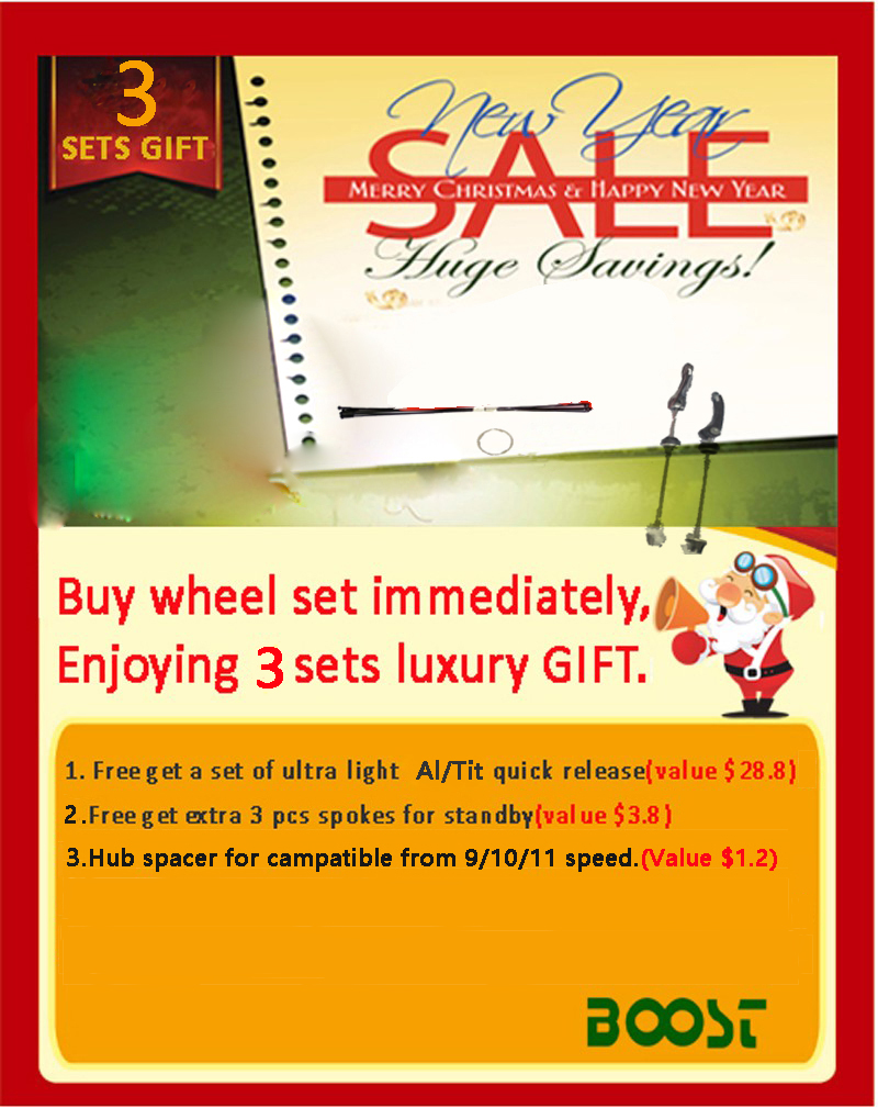 4 sets gift for MTB disc brake.
