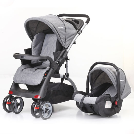 foldable multifunction stroller <strong>baby</strong> 2 in 1 with car seat