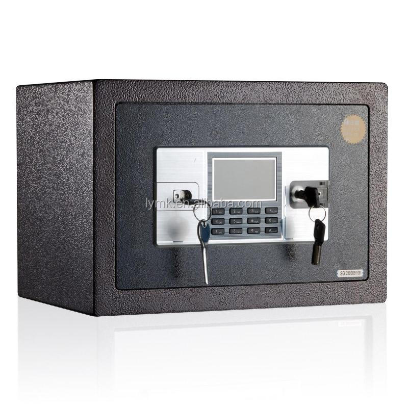 customized pc metal digital hidden wall safe box