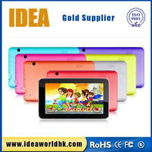 MTK8127 1G DDR3 8G ROM GPS BT child gift 7 inch tablet pc