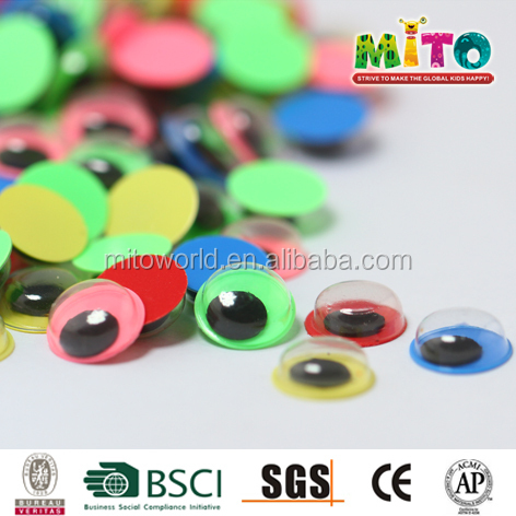 10mm large plastic wiggle eyes