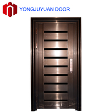 Chinese Modern New Fancy Main Security Single design titanium alloy entry door