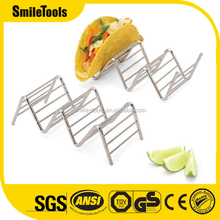 Rustproof Stainless Steel Taco Holder Stand Rack