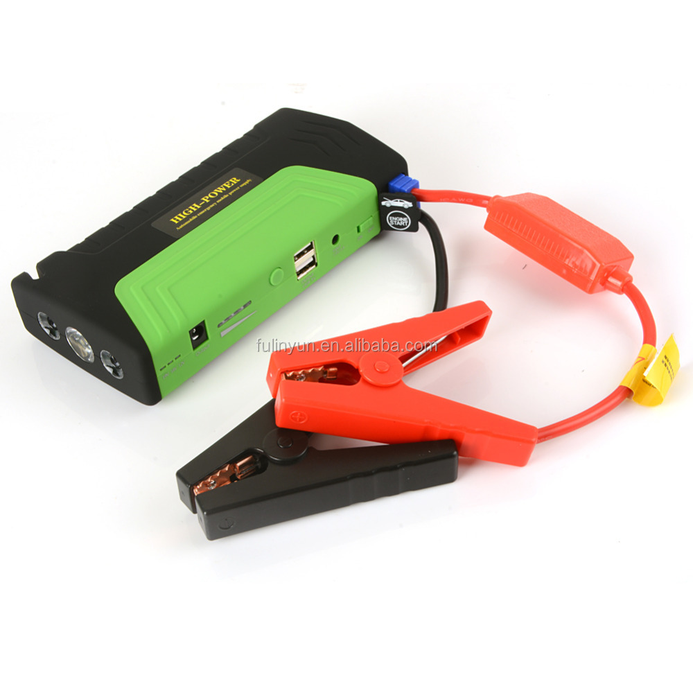 power bank 16800mAh portable car multi-function jump starter emergency power supply for 12v gasoline diesel cars with tool box