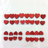 2016 Carved Decorative Small Wood Heart Shape