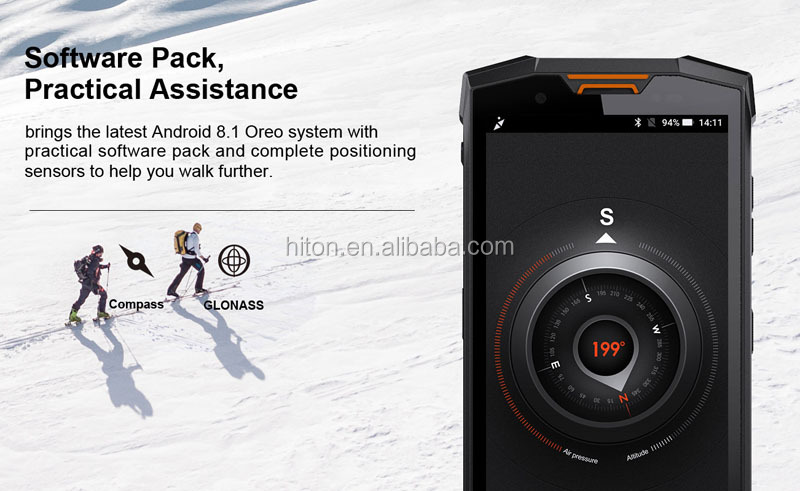 Cheapest Factory 5.99 inch FHD 6+64G 4G LTE Network IP68 10800mAh Walkie-talkie smartphone NFC PTT rugged phone waterproof phone