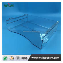 rectangular clear plastic office file storage boxes