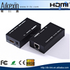 HDMI Extender 60m transmitter receiver over cat5e/cat6 RJ45 Ethernet converter