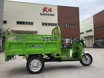2016 Dayang newest heavy load enclosed cabin electric adult rickshaw cargo tricycle for sale in Chile