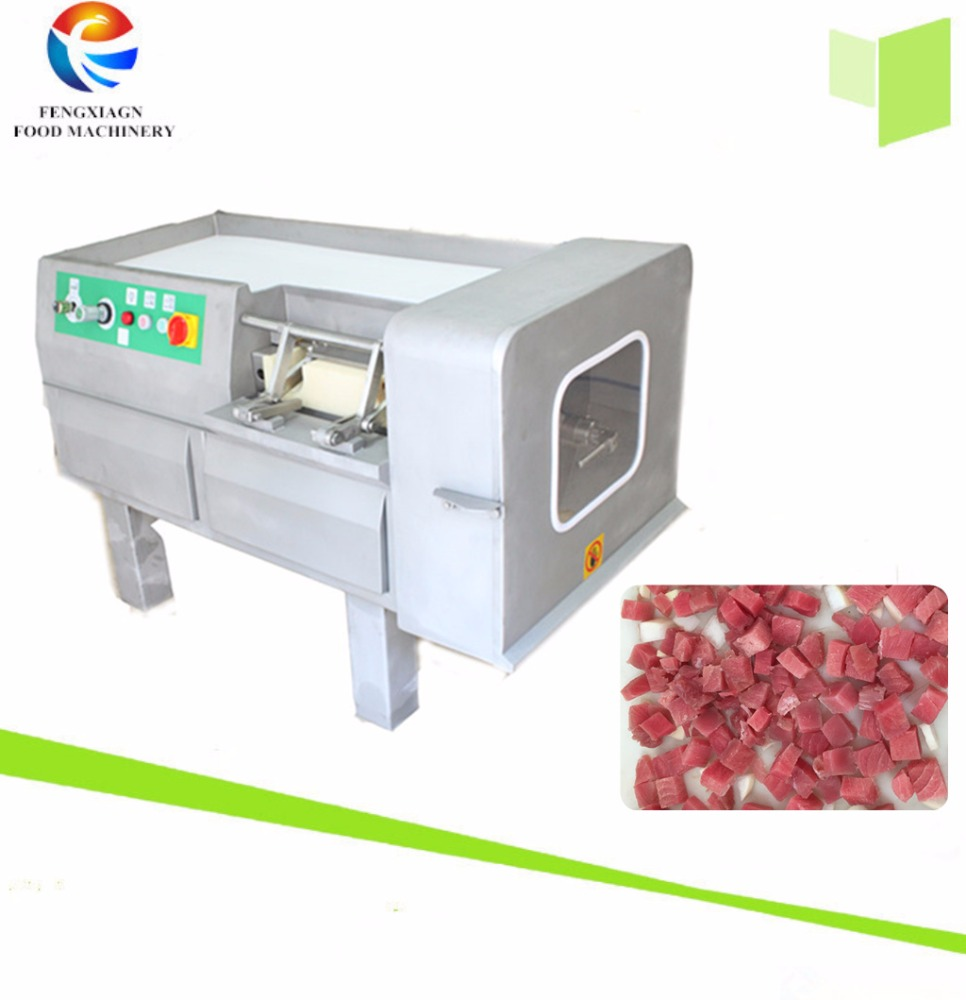 Meat Centre Frozen Fish Meat Dicer ,Diced Meat Cutter Cube Cutting Machine