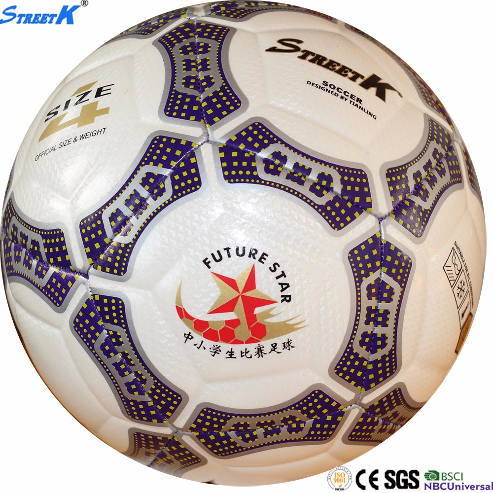 Streetk factory direct sale football balls size 5 customize soccerball sports training soccer balls