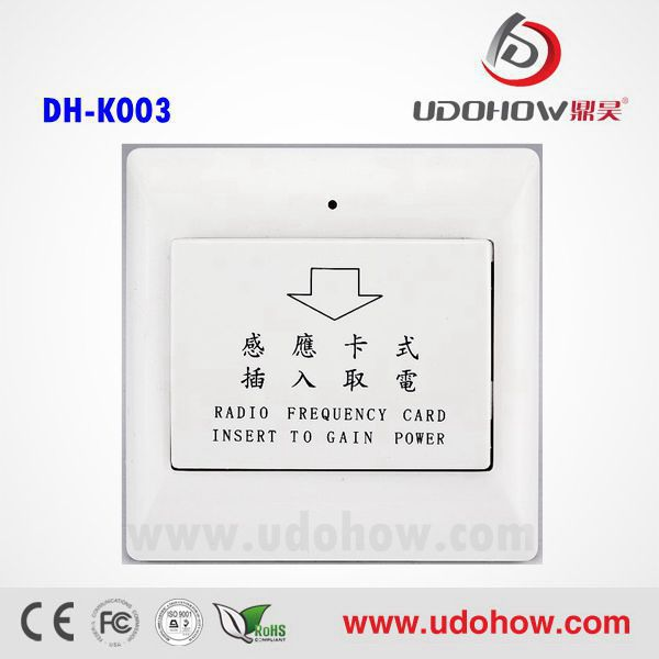 Low power new model modern electric switch manufacture,high efficient electrical key card switch