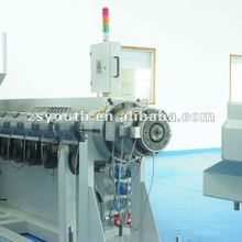high speed PE plastic pipe production line