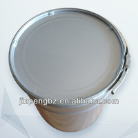 Tinplate Round Bucket With Lid And