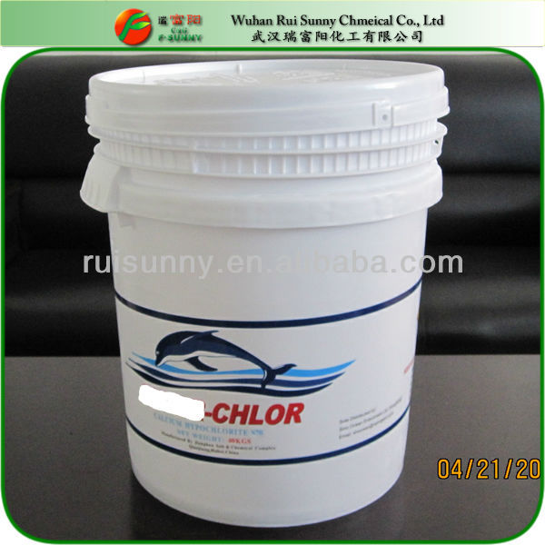 Industrial Chemical Calcium Hypochlorite For Swimming Pool