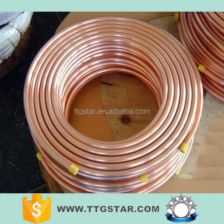 copper pancake coil / copper coil tube pipe