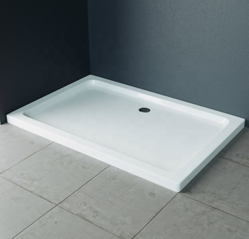 Wholesale Low Price High Quality 50mm Acrylic Shower Tray with Solid Surface