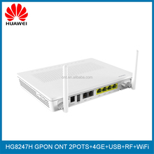 Huawei GPON ONT HG8247H 4GE+2POTS+1RF+WIFI English Firmware Unlock Version