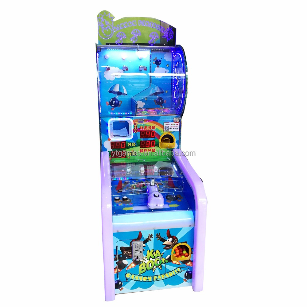 YDA Cannon Paradise Shooting Lucky Ball Amusement Redemption Coin Operated <strong>Game</strong> with prize and capsule toy