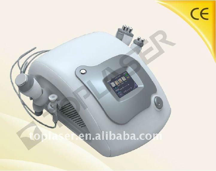 Toplaser Luna V original machine 4 in 1 cavitation rf face firming spa beauty facial equipment