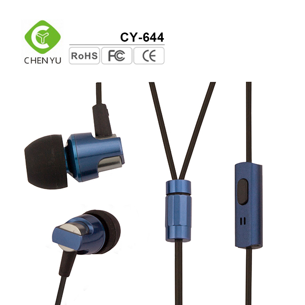 fashional style cheap promotional plug in earphone jack accessory
