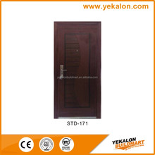 Yekalon STD-171 Frosted heat transfer security stainless steel grill design door