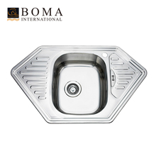 Hexagon stainless steel royal kitchen sink