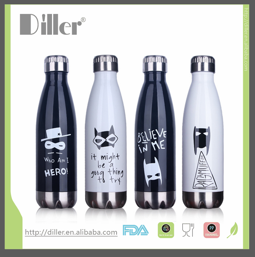 2016 newest cola shaped thermos flask thermos bottle 500ML christmas present