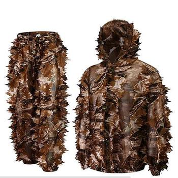 2019 Super Natural Camouflage Leafy Hunting Ghillie Suit
