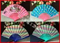 Customized plastic Spanish fan