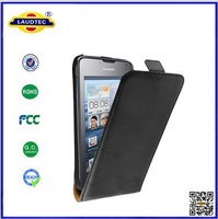 For Moto E Cover Italy Slim Leather Flip Case Cover Made in China Laudtec