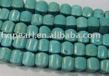 Turquoise crushed gemstones