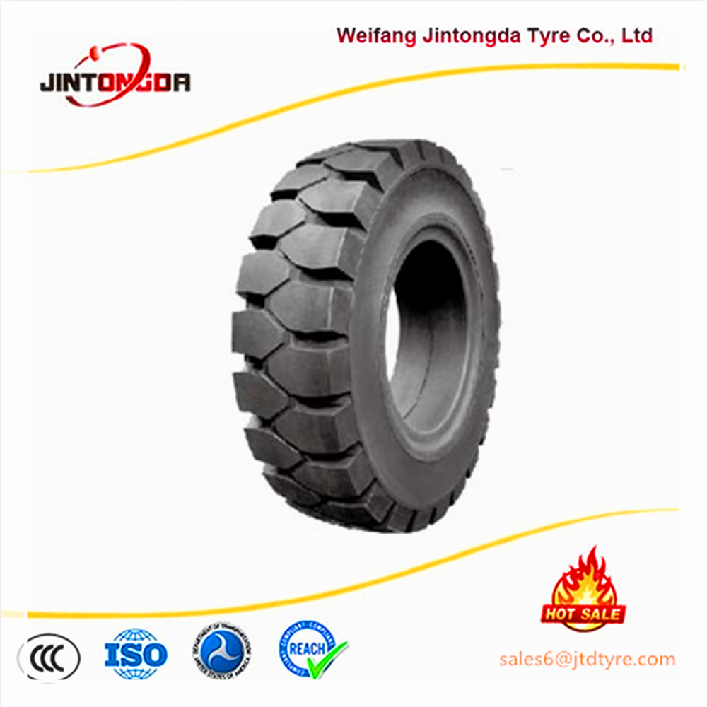 Cheap wholesale solid tire forklift tire